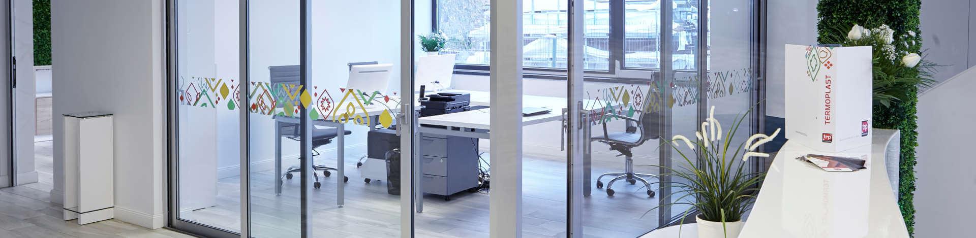 Menuiserie en aluminium - Système coulissant TRP COR 4200