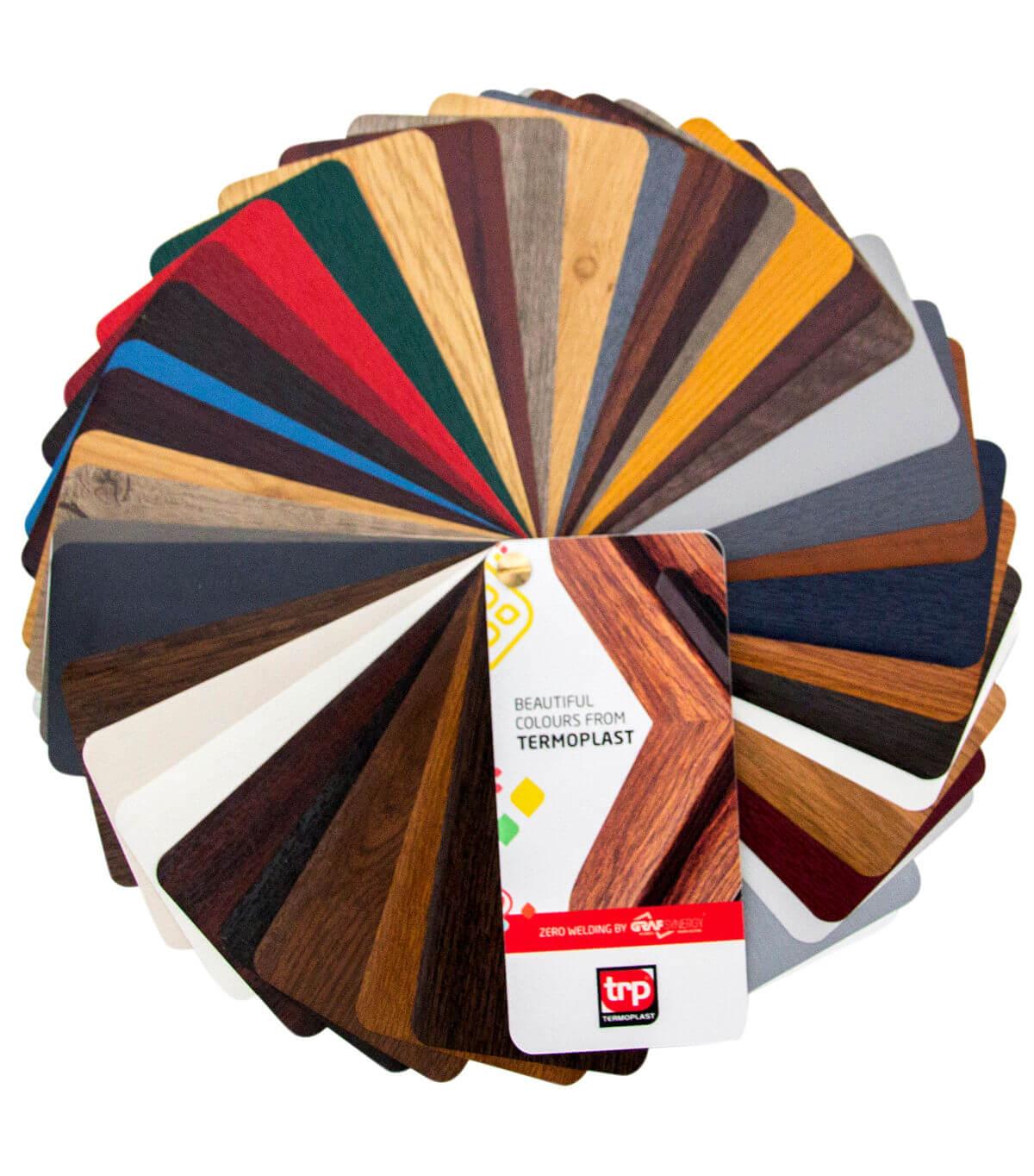 termoplast - palette de couleurs spéciale
