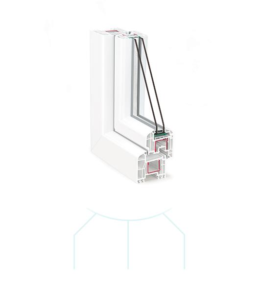 Termoplast - Tamplarie PVC TRP 80